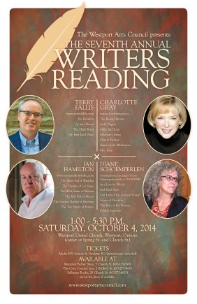 2014 writers reading poster