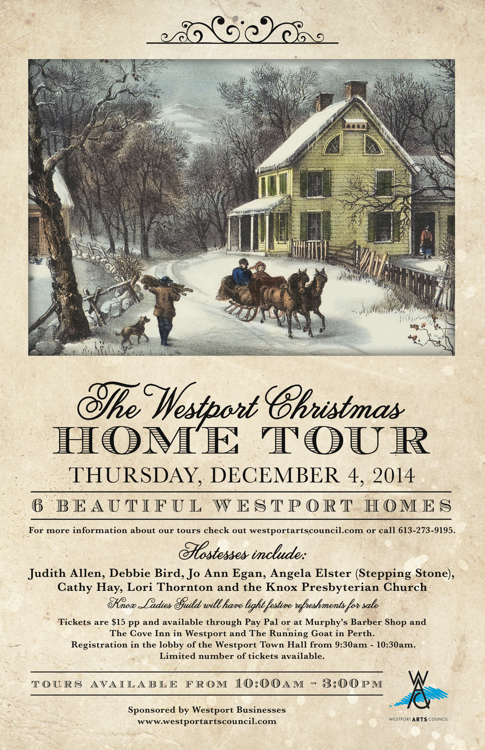 dec 4 westport christmas home tour westport arts council. Black Bedroom Furniture Sets. Home Design Ideas