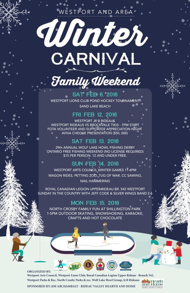 Winter Carnival Poster 3