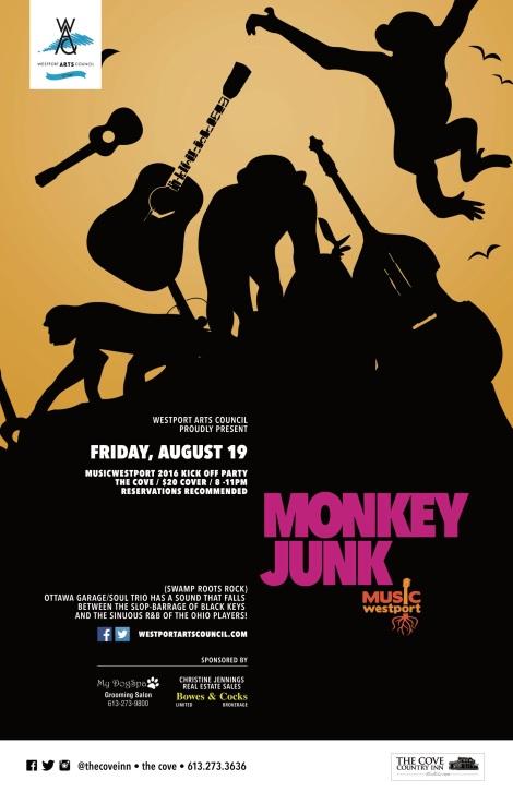 Monkey Junk MW 2016jpeg