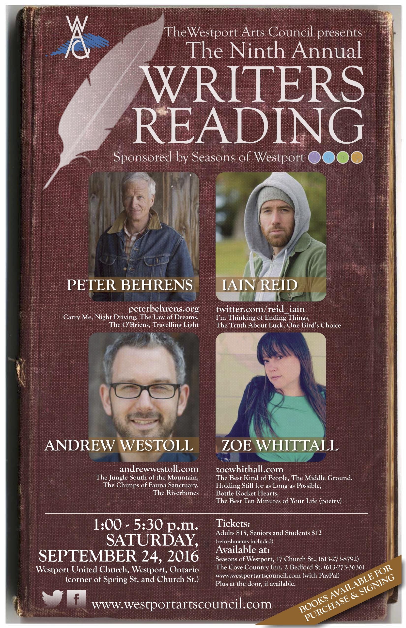 WAC 9th writers reading (final) posterjpeg