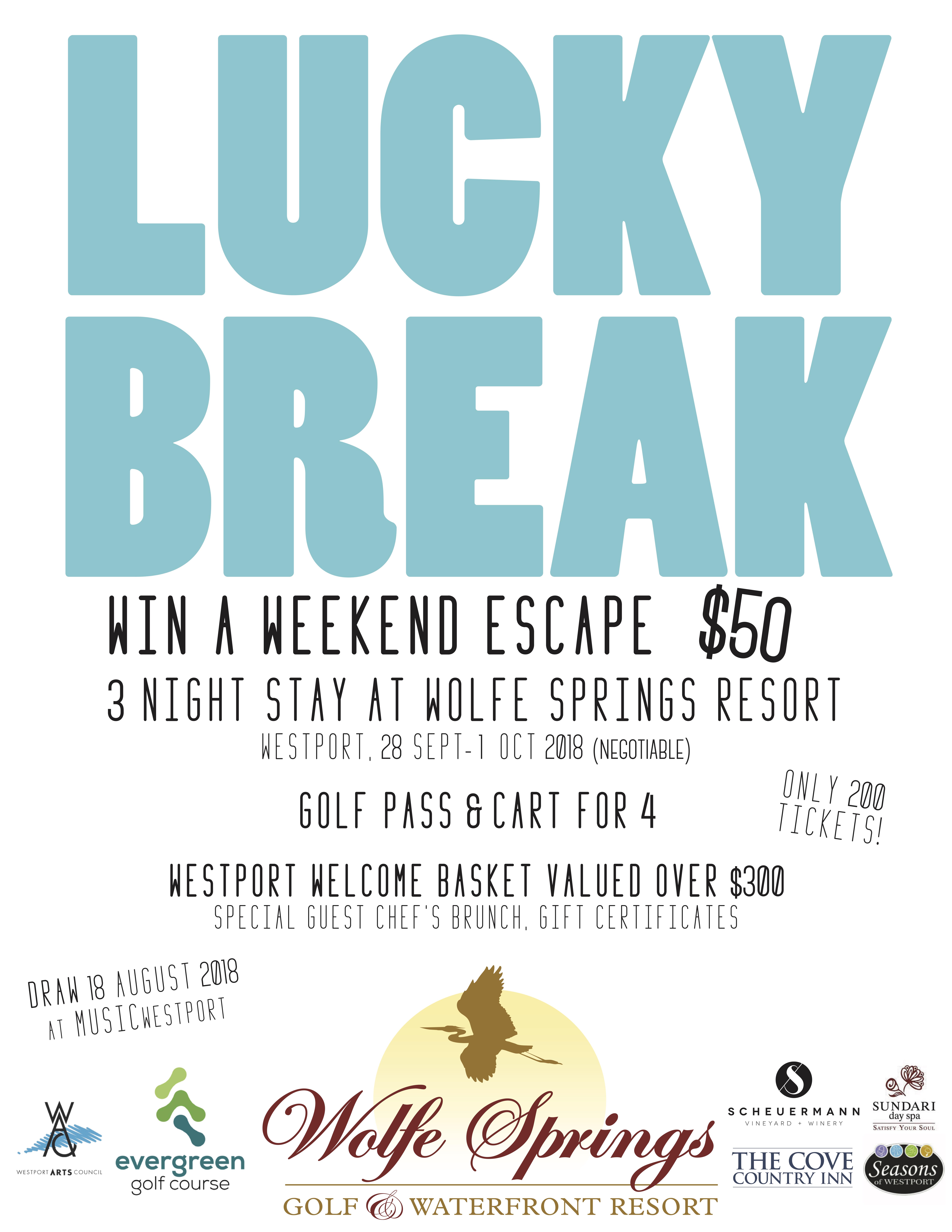 Lucky Break | Westport Arts Council